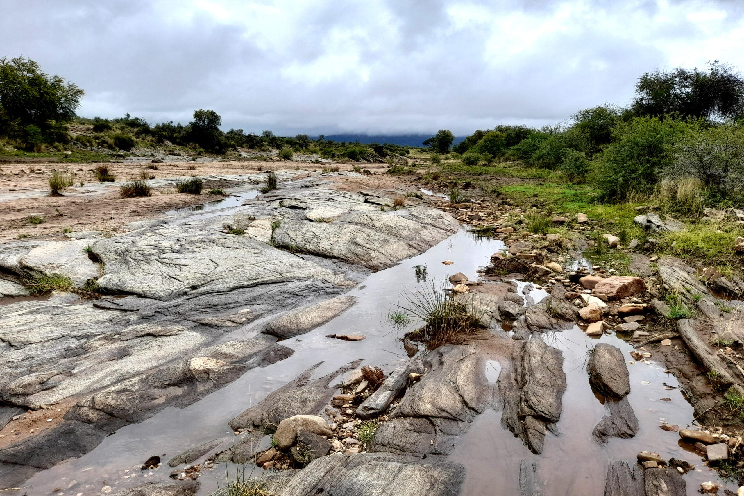 Seeis-Rivier on Ondekaremba in Namibia